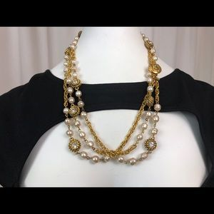 Authentic Vintage Chanel Layer Necklace